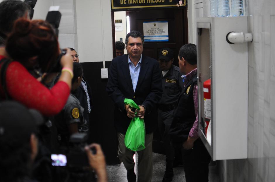 Este día será imputado Gustavo Martínez. (Foto: Alejandro Balán/Soy502)