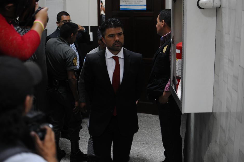 Jonathan Chévez, presunto lavador de la expareja presidencial. (Foto: Alejandro Balán/Soy502)