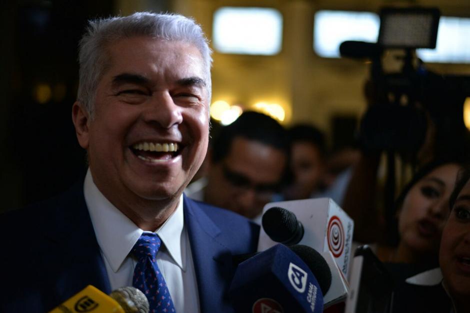 El diputado con antejuicio Luis Rabbé dijo que no renunciará. (Foto: Wilder López/Soy502)