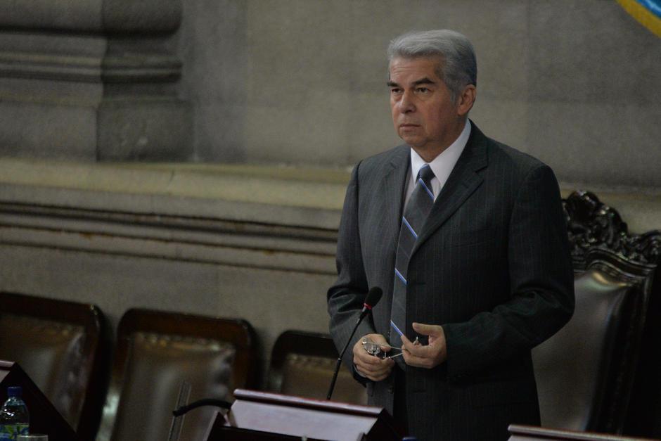 Luis Rabbé viajó hacia México dos días antes que la Corte Suprema de Justicia le retirar la inmunidad. (Foto: Archivo/Soy502))