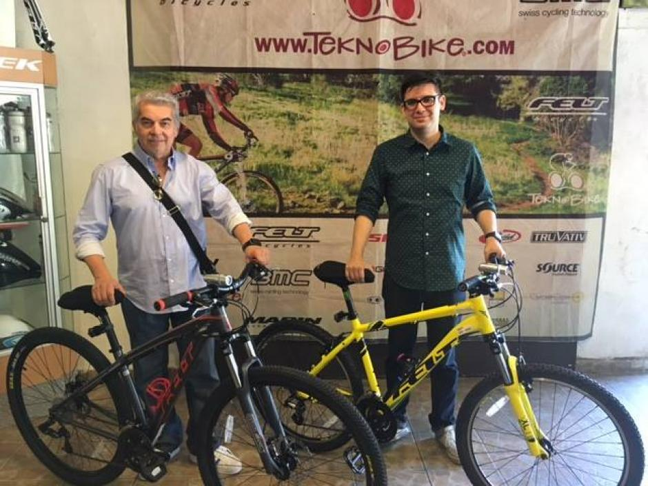 Rabbé fue visto el fin de semana comprando dos bicicletas en México. (Foto: Archivo/Soy502)