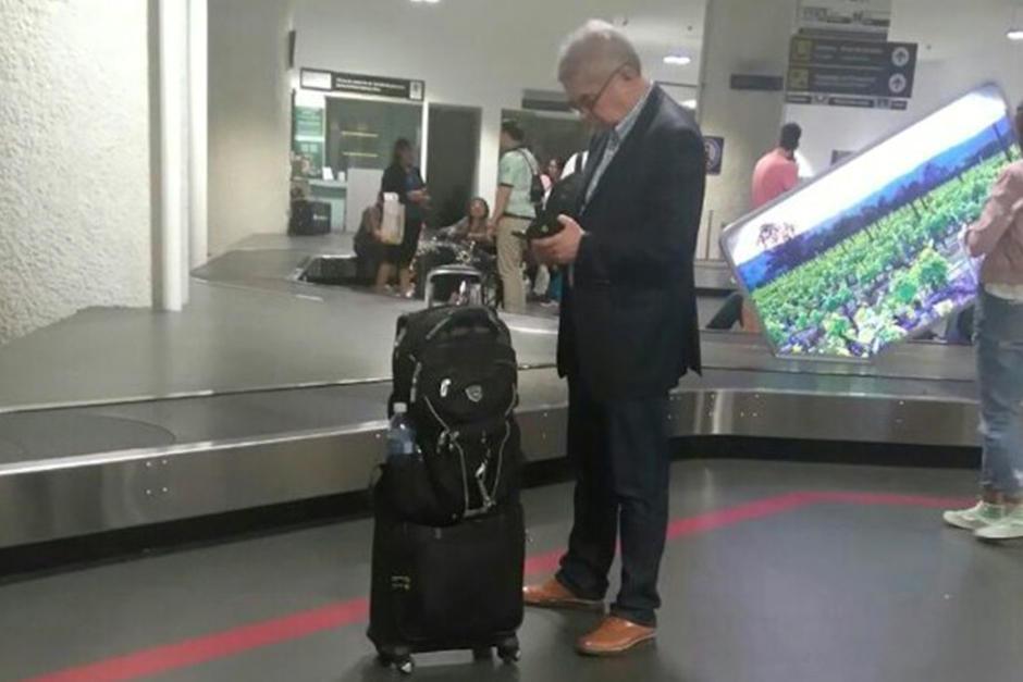 El legislador abandonó el país el 16 de agosto. (Foto: Archivo/Soy502)