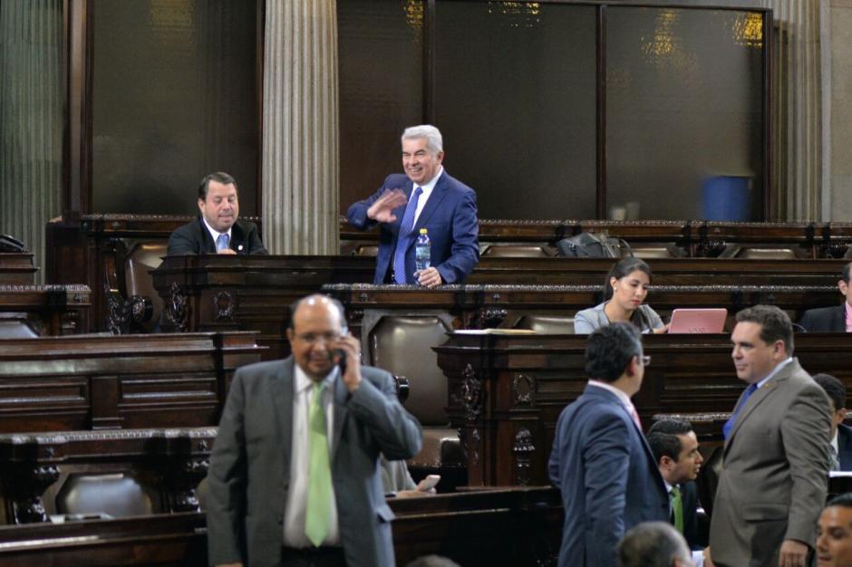 El expresidente del Congreso, Luis Rabbé, enfrenta un proceso de antejuicio. (Foto: Wilder López/Soy502)