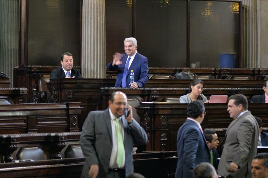 El legislador se encuentra fuera de Guatemala desde el 16 de agosto. (Foto: Archivo/Soy502)