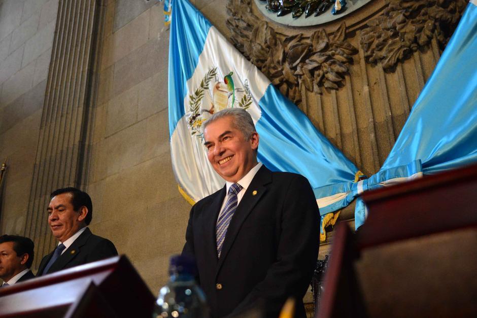 Rabbé es señalado de crear plazas fantasma mientras presidió el Congreso. (Foto: Archivo/Soy502)