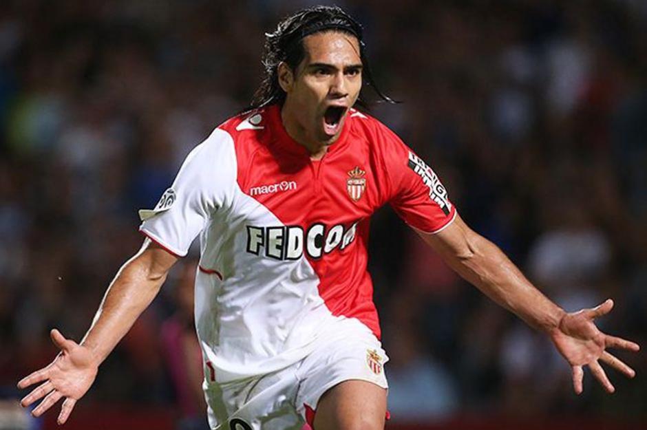 El cafetero Radamel Falcao, que actualmente milita en el Mónaco, llegó a esta lista gracias a su rendimiento durante el tiempo en que formó parte del Atlético de Madrid. (Foto: fotofootball.com)