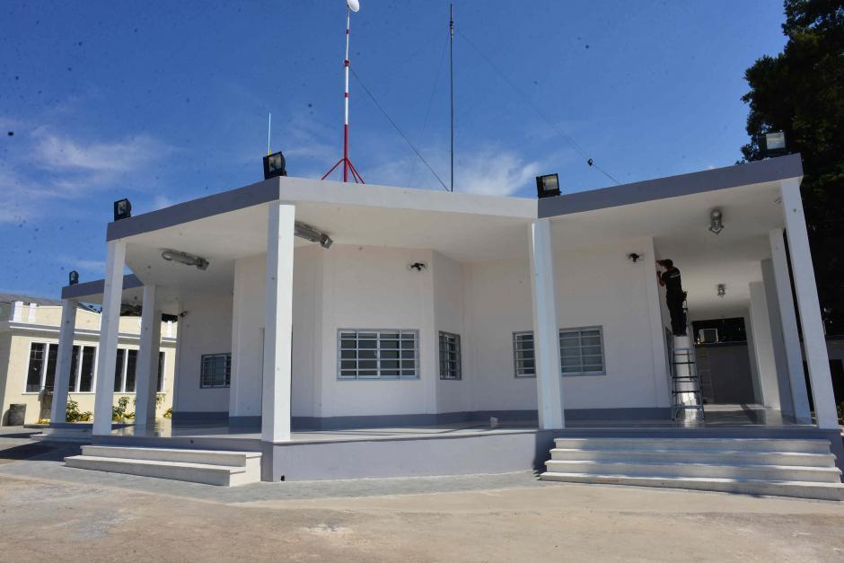 Esta nueva instalación resguarda un sistema completo de supervisión aérea. (Foto: Jesús Alfonso/Soy502)