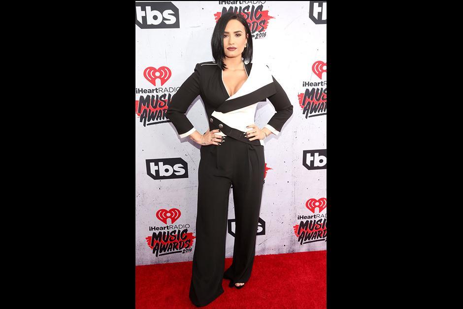 Demi Lovato dio una increible interpretación. (Foto: Eonline)
