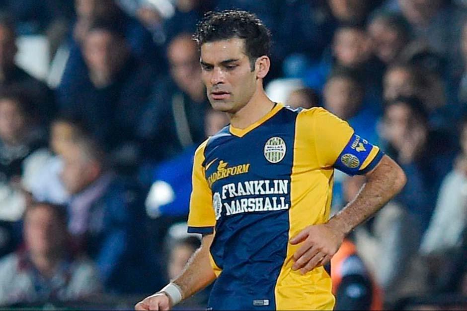 Rafa Márquez tiene una lesión en el abductor de la pierna derecha
