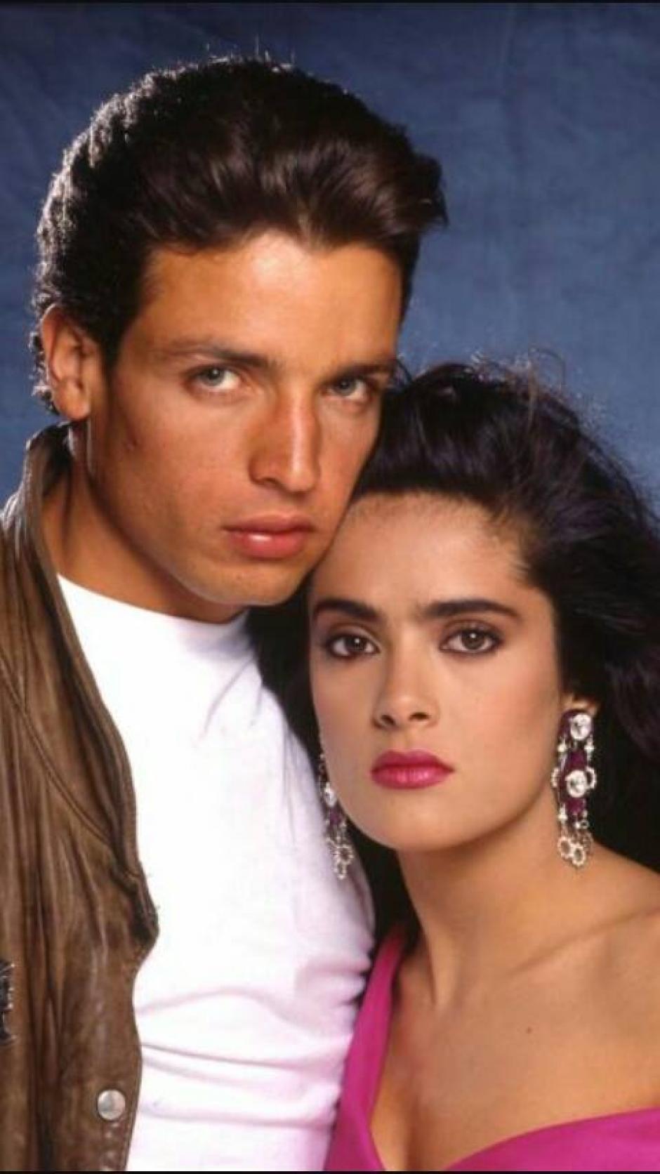 Una imagen del actor cuando fue galán de telenovelas. (Foto: Facebook/Rafael Rojas)