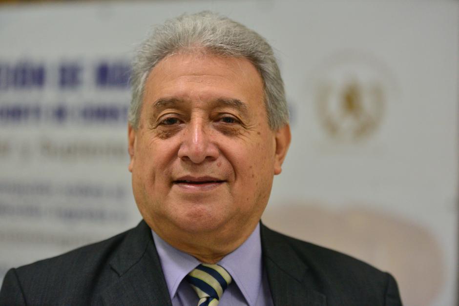 Rafael García López fue asesor del Ministerio de Salud y posee experiencia como docente universitario. (Foto Wilder López/Soy502)