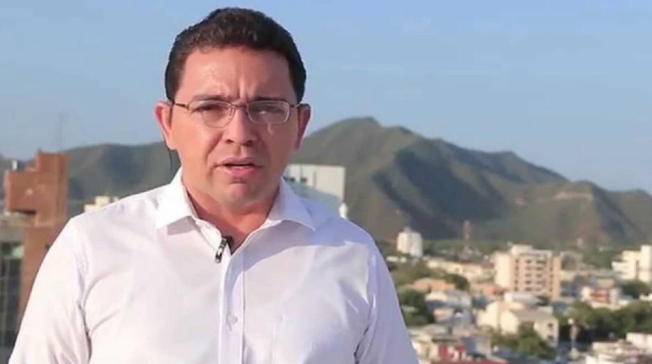 Rafael Martínez alcalde de Santa Marta, Colombia, contrató a un community manager por 899 millones 030 mil pesos colombianos mensuales. (Foto: Zona Cero)