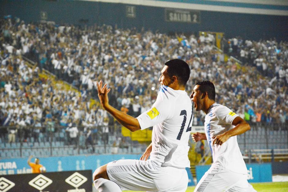 El lateral de Comunicaciones fue clave en el triunfo de Guatemala contra Estados Unidos. (Foto: Wilder López/Soy502)