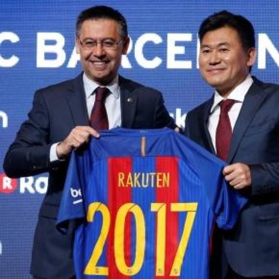 El Barcelona firmó un convenio de patrocinio con un gigante chino. (Foto: Twitter)