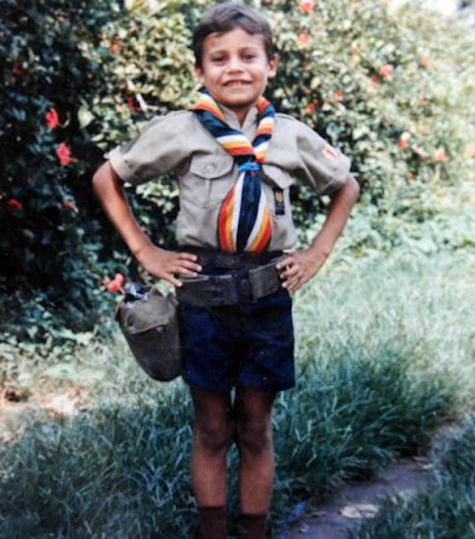 Osorio tenía 5 años cuando fue obligado por un soldado a llamarlo papá llevándoselo. (Foto: Ramiro Osorio)