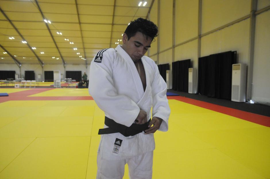 El judoca Ramos conocerá el 4 de agosto quién será su rival en el primer combate. (Foto: Pedro Pablo MIjangos/Soy502)