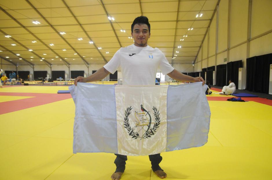 El cobanero José Ramos aguarda por su debut en los Juegos Olímpicos. (Foto: Pedro Pablo MIjangos/Soy502)
