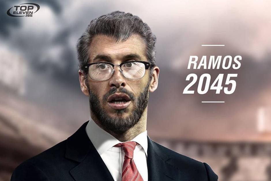 Top Eleven crea imagen del futbolista Sergio Ramos. (Foto: Top Eleven )