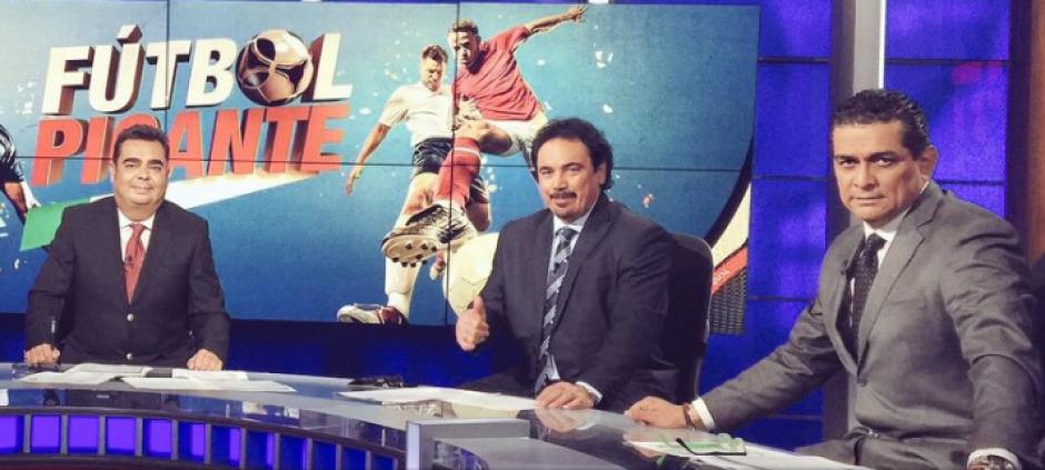 Ramos Rizo es analista en el programa Futbol Picante. (Imagen: captura de pantalla)