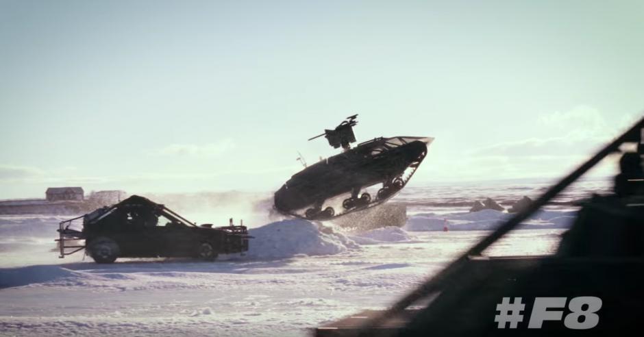 El equipo de producción de la saga trabaja desde hace un tiempo en este lugar.  (Captura de pantalla: Fast & Furious/YouTube)