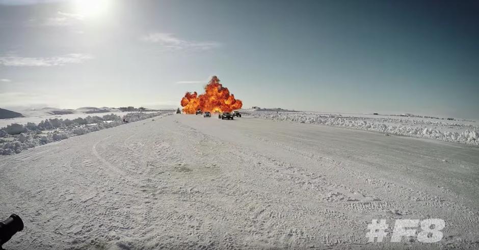 Las imágenes se tomaron en Islandia. (Captura de pantalla: Fast & Furious/YouTube)