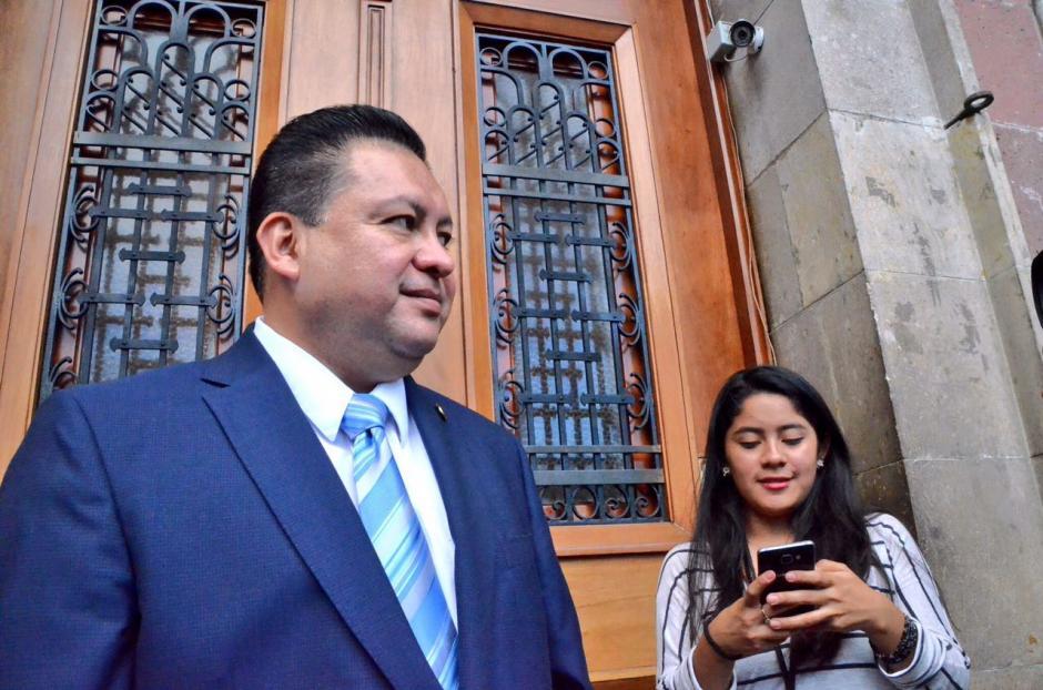 La reunión en Casa Presidencial fue privada. (Foto: cortesía José Castro)