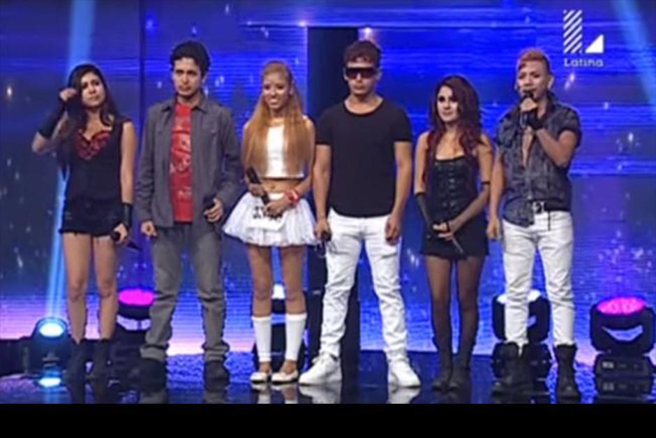 Los jóvenes peruanos aseguraron que son fanáticos de la banda original e intentaron imitarla. (Foto: video)