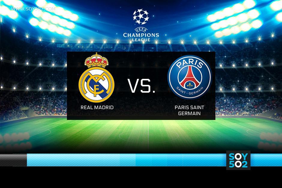 El Real Madrid recibe al PSG en el Bernabéu tras empatar 0-0 en el estadio Parque de los Príncipes