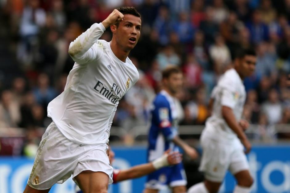 Cristiano Ronaldo sólo jugó 45 minutos, anotó doblete para Real Madrid. (Foto: AFP)