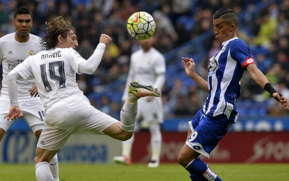 Modric fue titular en el triunfo de Real Madrid ante el Deportivo la Coruña. (Foto: AFP)