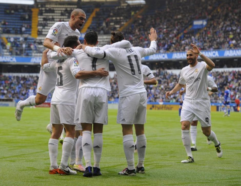 Real Madrid ganó, pero no le alcanzó para quedarse con la Liga. Ahora piensan en la Champions League. (Foto: AFP)