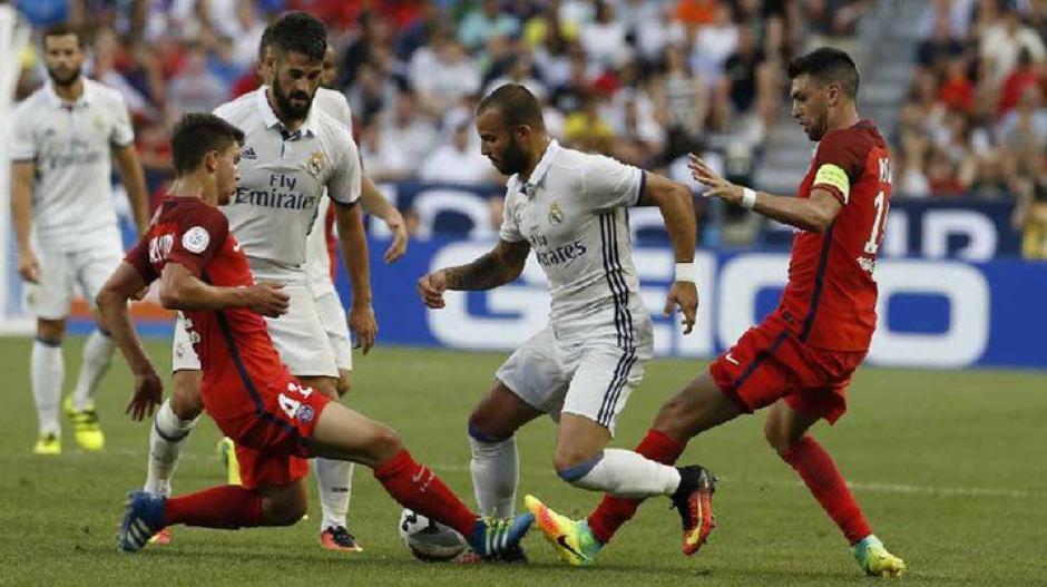 En este partido el PSG fue superior al Real Madrid en Ohio. (Foto: Twitter)