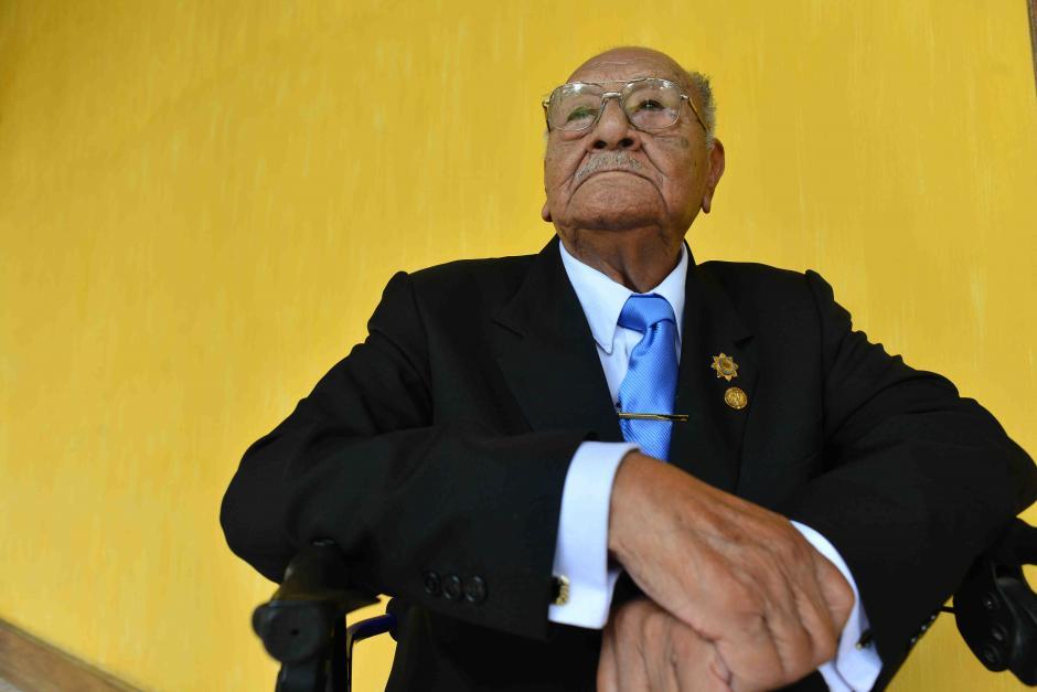 López dice que la receta para vivir 100 años es estar contento. (Foto: Jesús Alfonso/Soy502)