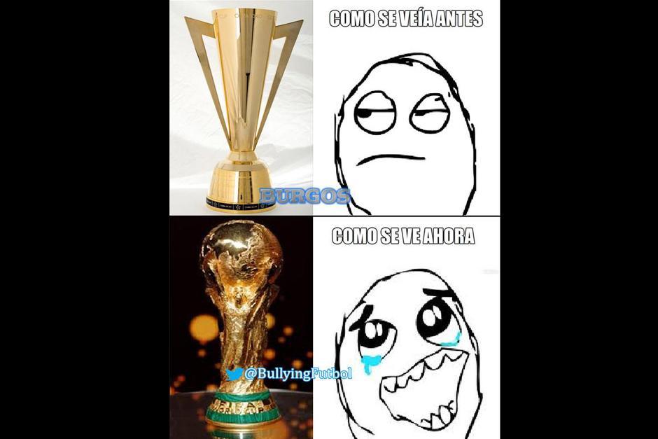 Una broma acerca de la poca importancia que de inicio los mexicanos le daban a la Copa Oro