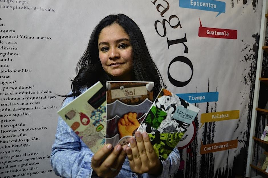 Catafixia Editorial posee una diversa selección de poetas latinoamericanos a buenos precios. (Foto: Selene Mejía/Soy502)