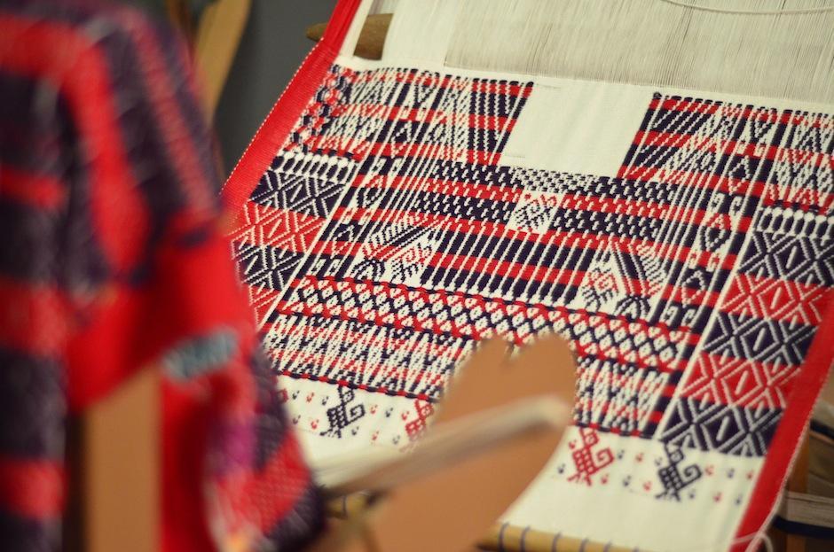 El telar de cintura es una joya. (Foto: Selene Mejía/Soy502)