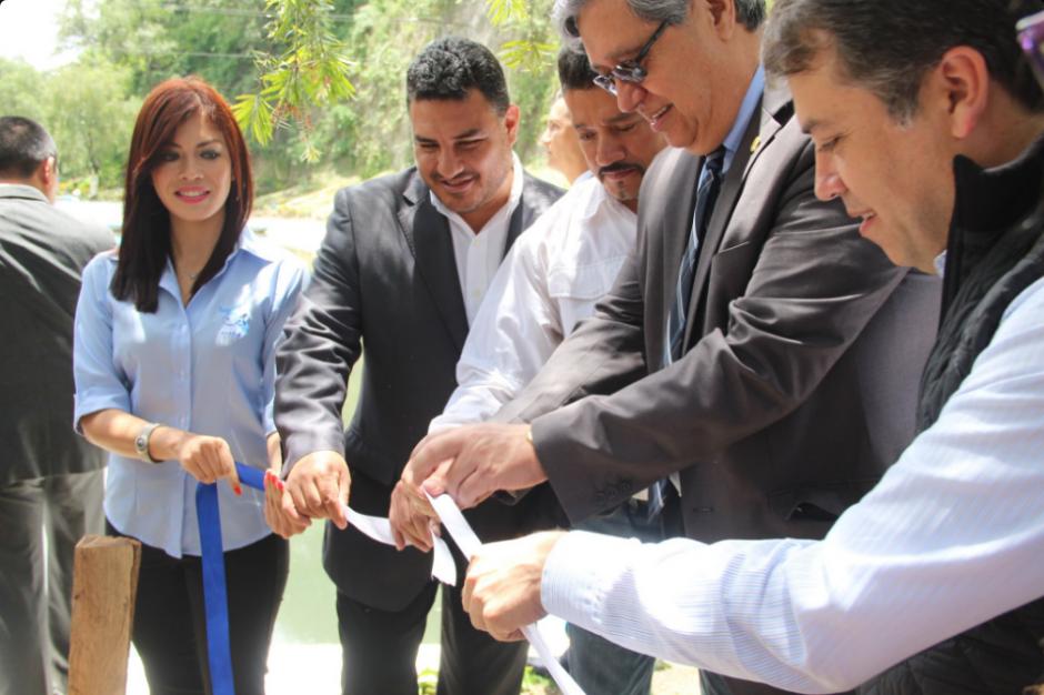 En el acto de inauguración estuvo presente el vicepresidente Jafeth Cabrera. (Foto: Twitter, AMSA)