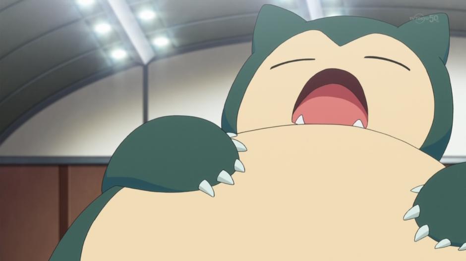 Snorlax siempre está durmiendo. (Foto: pokemon.wikia.com)