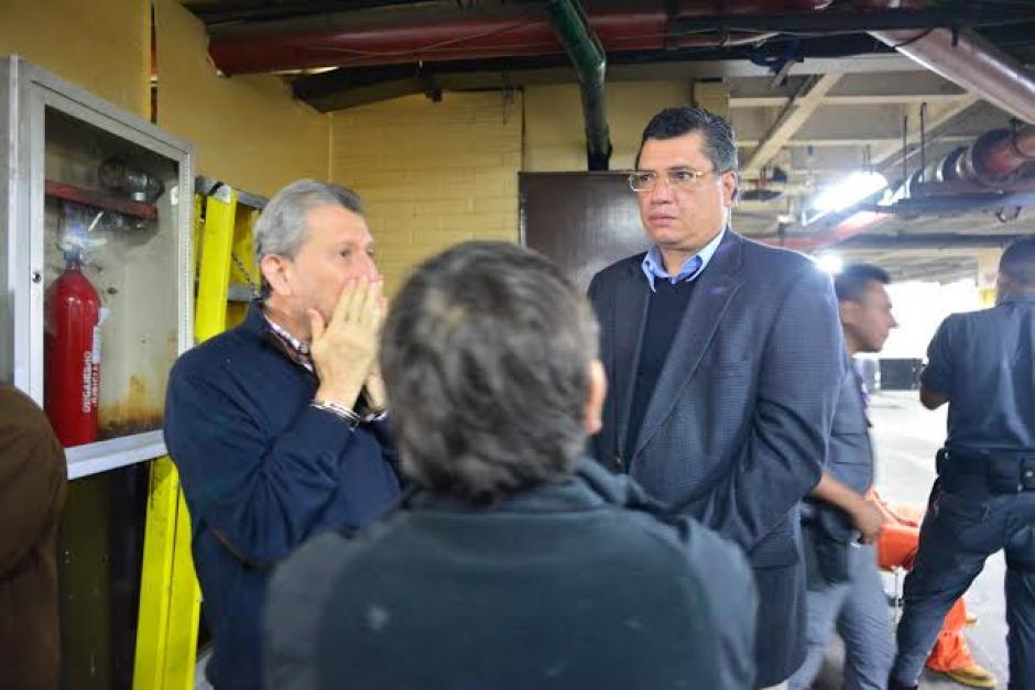 En la audiencia fueron presentados varios audios donde se demuestra cómo operaba Gustavo Martínez y Medina Farfán. (Foto: Wilder López/Soy502)