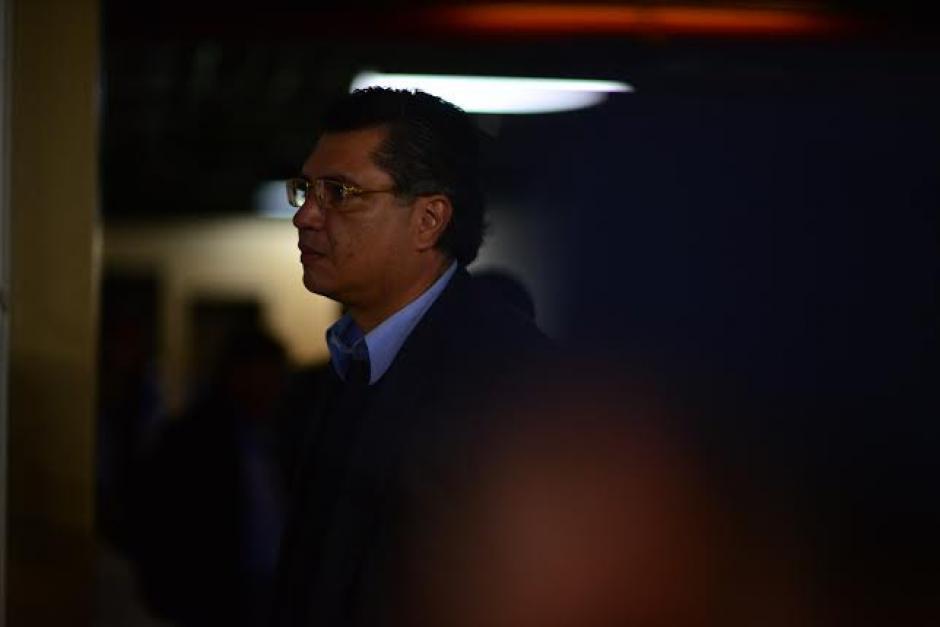 Gustavo Martínez, el yerno del Presidente se abstuvo de declarar en la audiencia donde se le ligó a proceso. (Foto: Wilder López/Soy502)