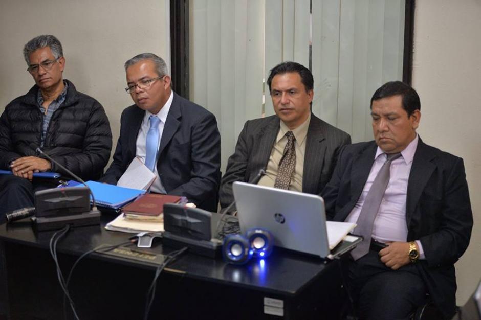 Junto a los implicados participan los abogados defensores. (Foto: Wilder López/Soy502)