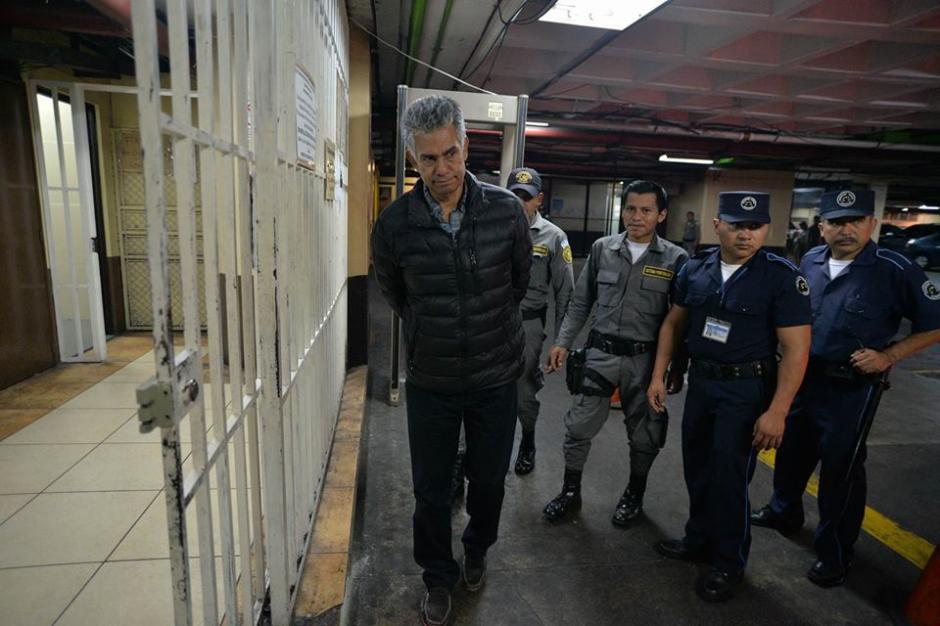 Carlos Muñoz también está vinculado al caso La Línea. (Foto: Wilder López/Soy502)