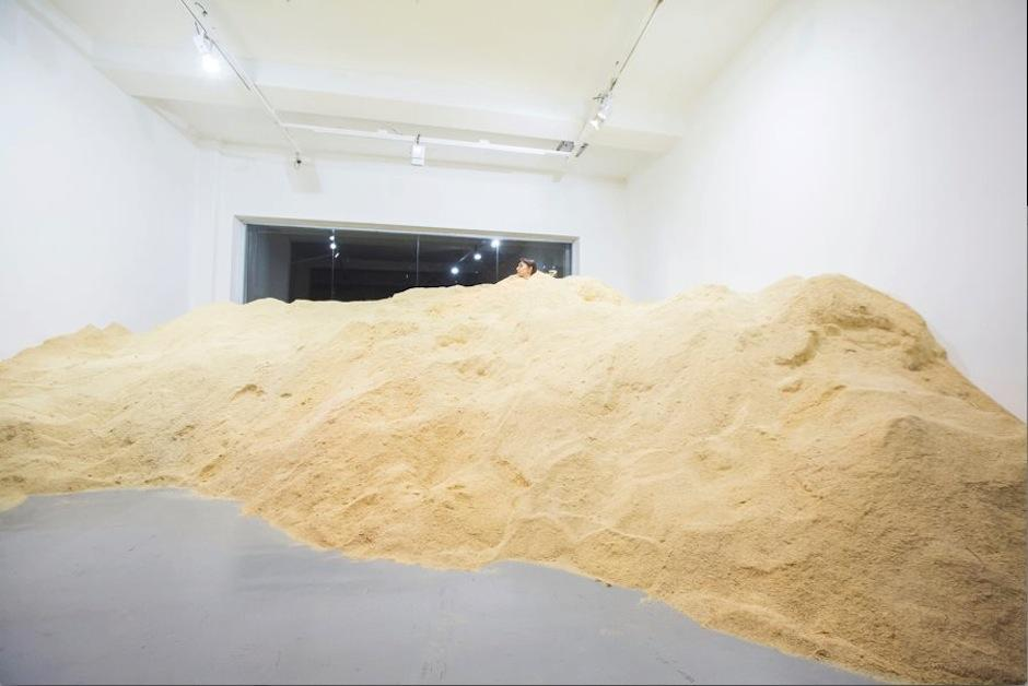 La galería difunde el desarrollo del arte contemporáneo emergente y fortalece la asociatividad de los jóvenes por medio de la difusión y producción artística. (Foto: Regina Galindo)