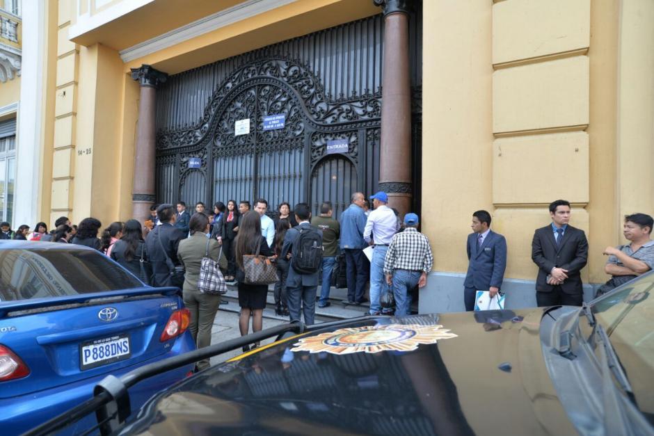 Además otras 17 personas han sido detenidas por este caso.  (Foto: Wilder López/Soy502)