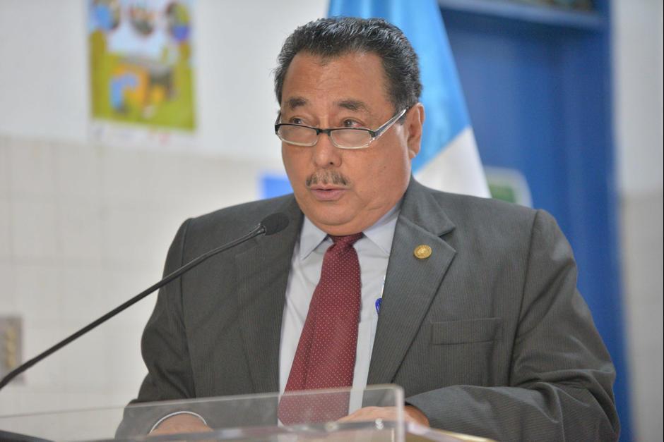 Alfonso Cabrera renunció oficialmente como Ministro de Salud. (Foto: Archivo/Soy502)