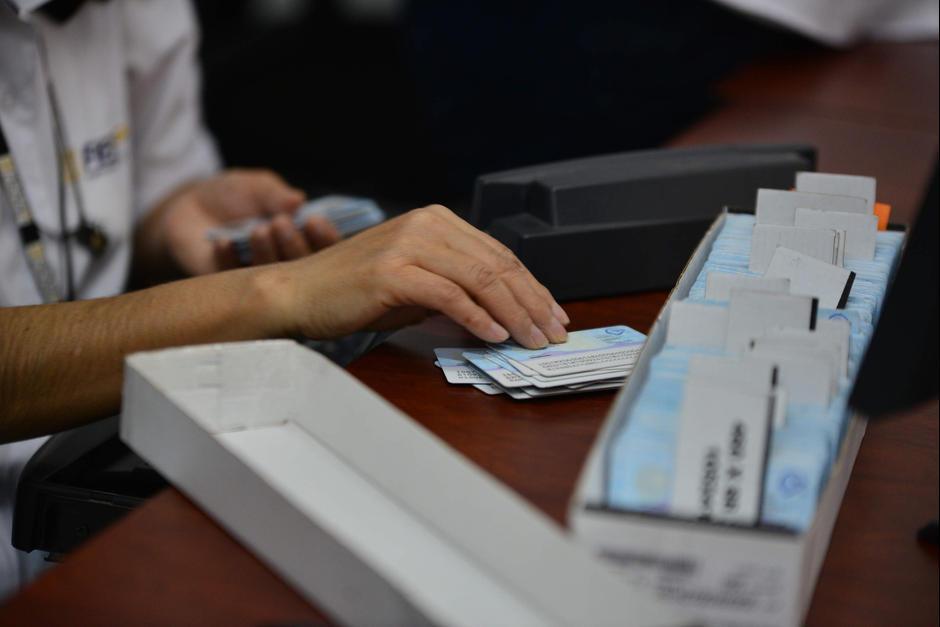 Por el momento no se han impreso 115 mil DPI.  (Foto: Archivo/Soy502)