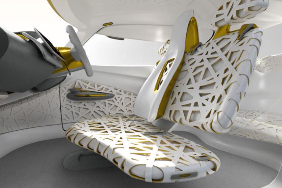El interior del vehículo está inspirado en el nido de un pájaro. (Foto: Renault.com)