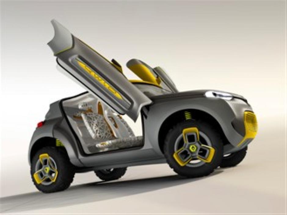 Diseño deportivo del vehículo de Renault. (Foto: Renault.com)