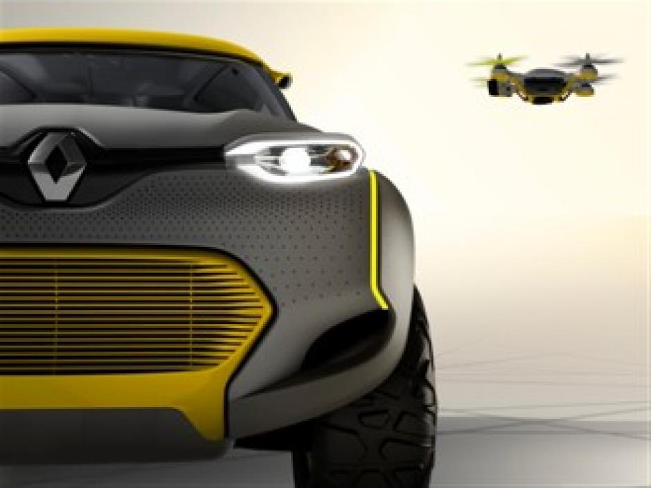 El aparato permite tomar fotos del paisaje, monitorear el tráfico y advertir sobre obstáculos en la carretera. (Foto: Renault.com)