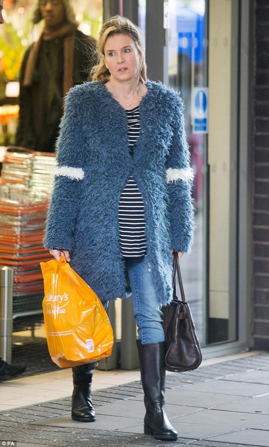 La actriz acaba de estrenar su próxima película de Bridget Jones. (Foto: Dailymail)